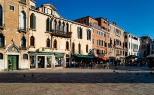 Campo Santa Maria Formosa's Square in the Castello District in Venice in Italy