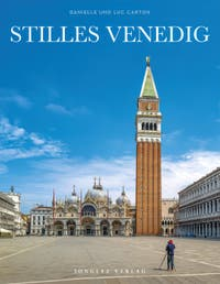 Stilles Venedig Bilder Buch von Danielle und Luc Carton, Jonglez Verlag Während der Ausgangsbeschränkungen im Zusammenhang mit der Coronavirus-Pandemie Venedig
