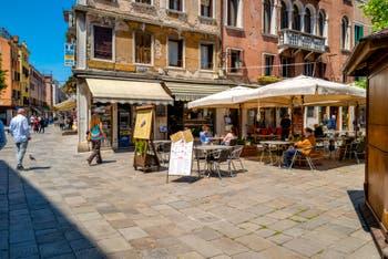 Strada Nova and Santi Apostoli Square, in the Cannaregio District in Venice