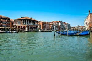 Santa Sofia Traghetto on Venice Grand Canal