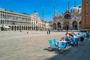 Greatness and beauty of St. Mark's Square in Venice, unique in the world!