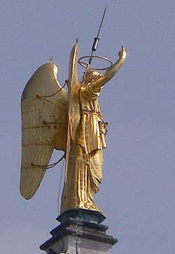 The Angel of the Campanile of Saint-Mark