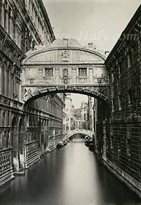 Bridge of Sighs (photograph 1890)