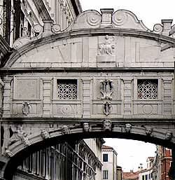 Bridge of Sighs: a Sarcophagus