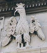 Eagle Facade Labia palace Grand Canal Venice Italy
