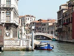 The Labia side  Grand Canal Venice Italy