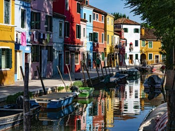 Burano Island Coloured Houses