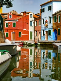 Burano Island Coloured Houses