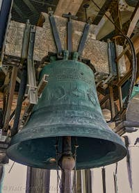 Saint-Mark Bell Tower's Bell in Venice Italy