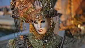 Venice Carnival Album - Mask and Costume