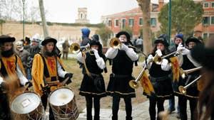 Venice Carnival Mary Celebration