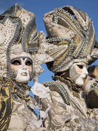 Venice Carnival Mask and Costume