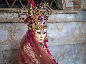 Venice Carnival Mask Costume