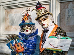 Venice Carnival's Costume and Mask
