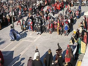 Venice carnival masks Place Saint-Mark