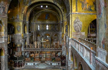 Saint Mark Basilica in Venice, the Mosaics of the Apse