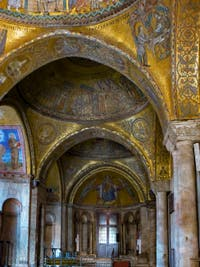 Saint-Mark Basilica Atrium's Mosaics in Venice Italy