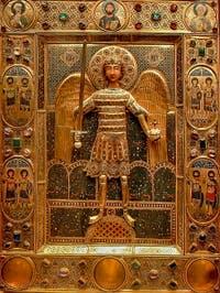 Saint-Mark Basilica's Treasure, in Venice in Italy