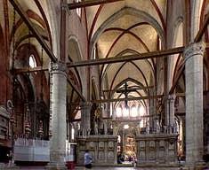 Church of Frari in Venice