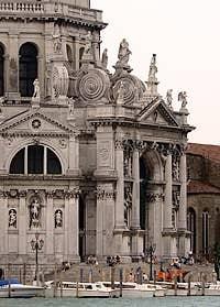Church Madona de la Salute Venice Italy