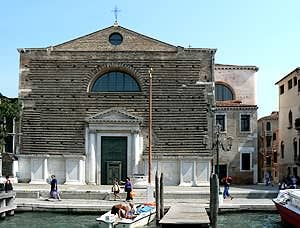 Church San Marcuola Cannaregio Venice Italy