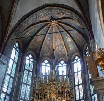 Gold Chapel in San Zaccaria Church in Venice Italy