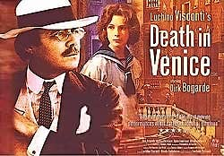Death in Venice of Visconti with Dirk Bogarde