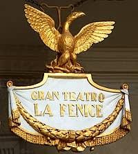 Theatre opera of La Fenice Venice Italy