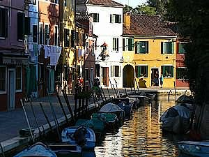 The discrete charm of the island of Burano