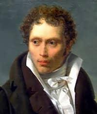 Portrait of young Arthur Schopenhauer
