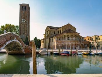Basilica dei Santi Maria e Donato in Murano Island in Venice Lagoon