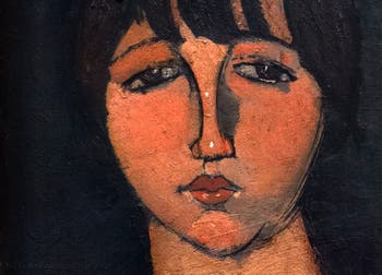 Amedeo Modigliani,The Woman in a Sailor Shirt(La femme en Blouse Marine), Peggy Guggenheim Collection in Venice