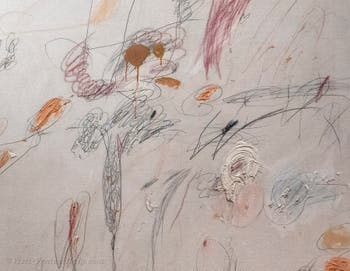 Cy Twombly,Untitled 1961, Peggy Guggenheim Collection in Venice Italy