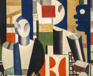 Fernand Léger, Men in the City (Les Hommes dans la Ville) at the Peggy Guggenheim Collection in Venice