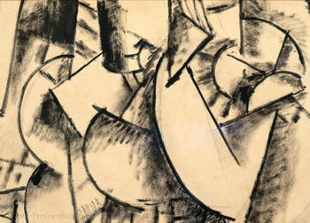 Fernand Léger,Study of a Nude, at the Peggy Guggenheim Collection in Venice