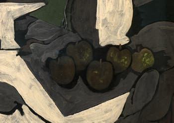Georges Braque,The Bowl of Grapes, (Le Compotier de Raisins) at the Peggy Guggenheim Collection in Venice in Italy