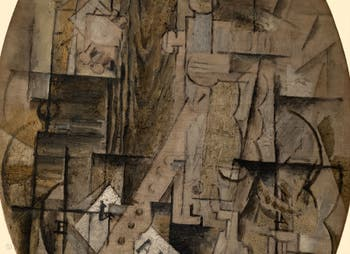 Georges Braque,The Clarinet (La Clarinette) at the Peggy Guggenheim Collection in Venice in Italy