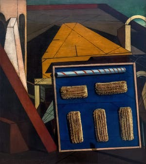 Giorgio de Chirico, The Gentle Afternoon, at the Peggy Guggenheim Collection in Venice