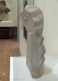 Henri Laurens,Head of a Young Girl, at the Peggy Guggenheim Collection in Venice