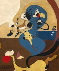 Joan Miró,Dutch Interior II, at the Peggy Guggenheim Collection in Venice