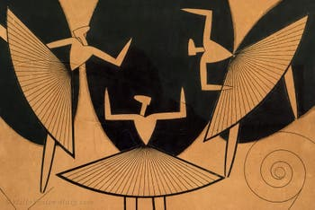 Man Ray,Silhouette, at the Peggy Guggenheim Collection in Venice