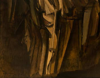 Marcel Duchamp,Nude Study of a Sad Young Man on a Train, at the Peggy Guggenheim Collection in Venice