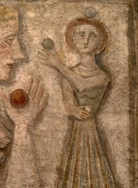 Massimo Campigli,The Ball Game, at the Peggy Guggenheim Collection in Venice
