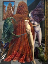 Max Ernst, Attirement of the Bride, at the Peggy Guggenheim Collection in Venice