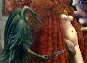 Max Ernst,Attirement of the Bride, (La Toilette de la Mariée) at the Peggy Guggenheim Collection in Venice