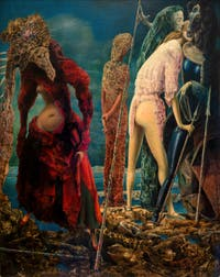 Max Ernst, The Antipope, at the Peggy Guggenheim Collection in Venice