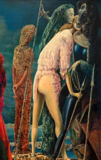 Max Ernst,The Antipope, at the Peggy Guggenheim Collection in Venice