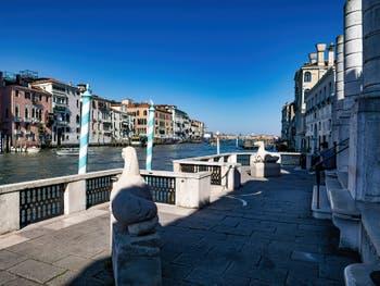 Palazzo Venier dei Leoni, the Peggy Guggenheim Collection Museun in Venice in Italy
