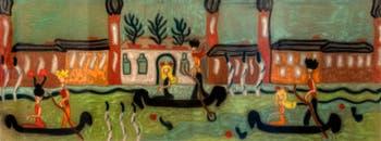 Pegeen Vail, Palazzo Venier dei Leoni, Peggy Guggenheim Collection in Venice Italy