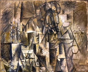 Pablo Picasso, The Poet (Le Poète) at the Peggy Guggenheim Collection in Venice